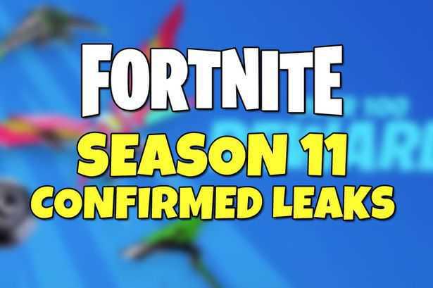 Fortnite Season 11 Chapter 2 Leaked Pass