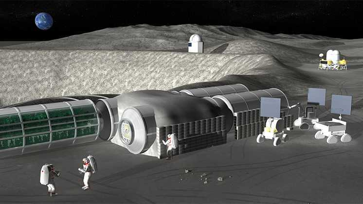 Japan will Build a Robotic Moon Base