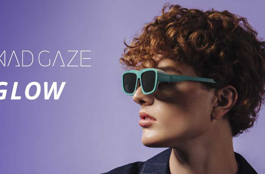 MAD Gaze GLOW_ Lightweight & Stylish Mixed Reality VR Glasses