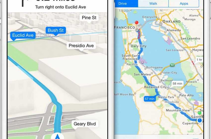 Apple Apps Got Redesigned and its Map App is Now Available Across the Country