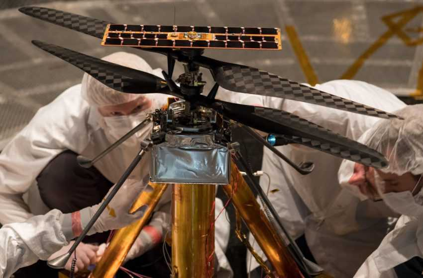 NASA Helicopter Ingenuity will Go to Mars with Perseverance Rover this Year